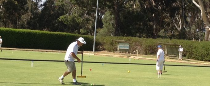 Croquet Gold Medalist comes back to compete in this year's Games