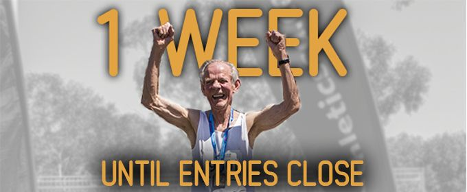Entries close in one week