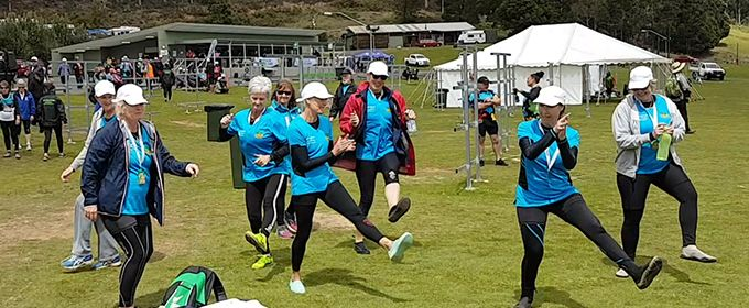 Dragon boat ladies from Queensland come together for Games